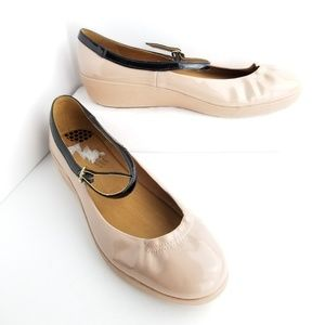c3f170a1dfd Fitflop Mary Jane Ballet Flats Shoes Buckle Size 9